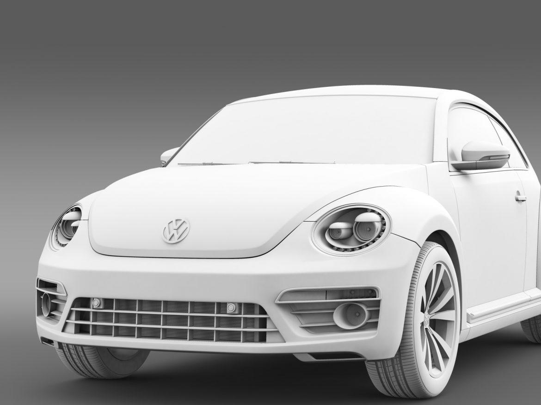 vw beetle pink edition concept 2015 3d model 3ds max fbx c4d lwo ma mb hrc xsi obj 208800