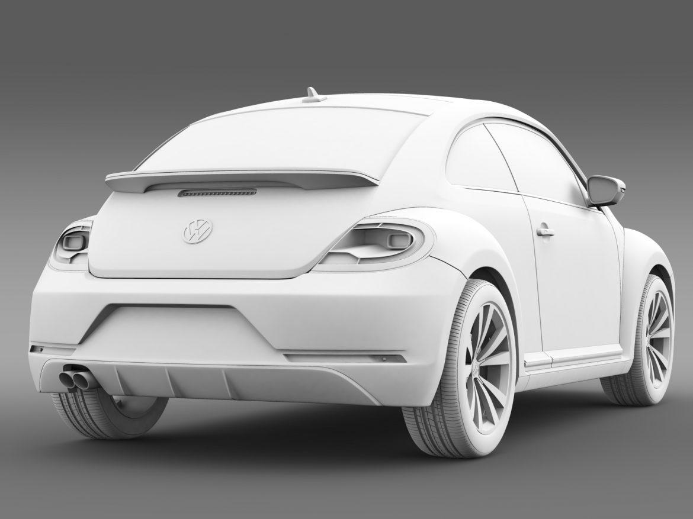 vw beetle pink edition concept 2015 3d model 3ds max fbx c4d lwo ma mb hrc xsi obj 208801