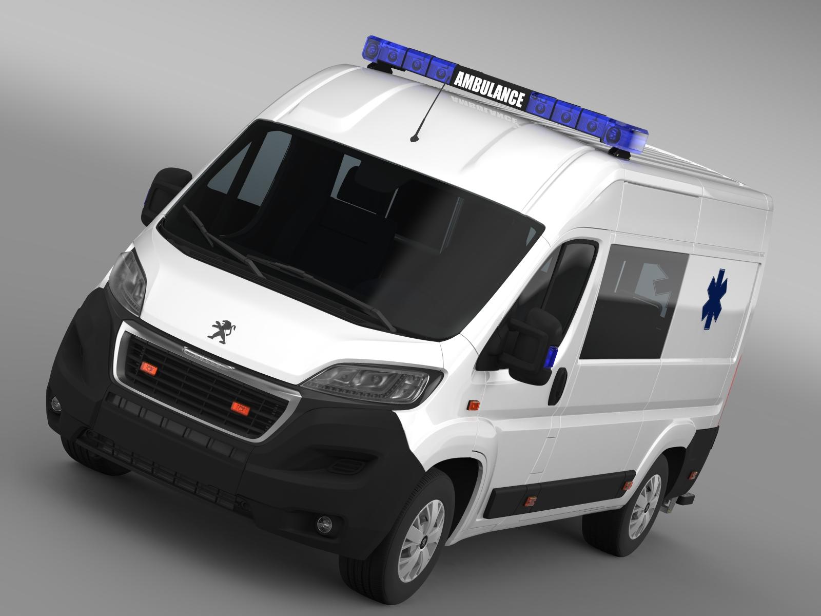 Peugeot boksçu ambulans 2015 3d modeli 3ds max fbx c4d lwo ma mb hrc xsi obj 208871