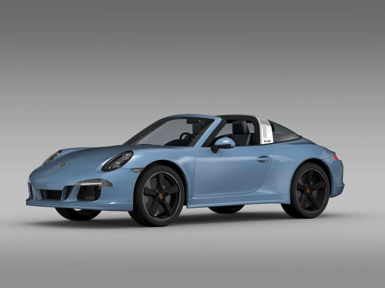 porsche 911 targa 4s exclusive 2015 3d model 3ds max fbx c4d lwo ma mb hrc xsi obj 208894