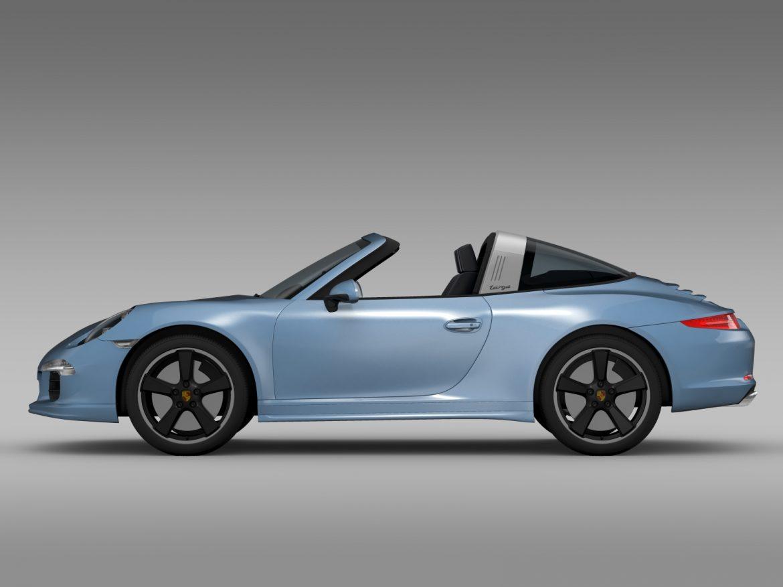 porsche 911 targa 4s exclusive 2015 3d model 3ds max fbx c4d lwo ma mb hrc xsi obj 208895