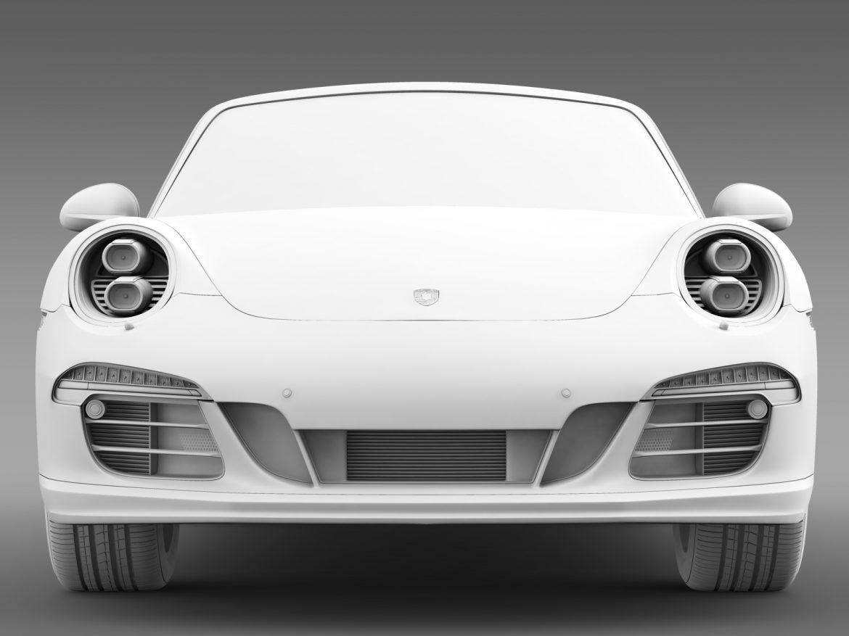 porsche 911 targa 4s exclusive 2015 3d model 3ds max fbx c4d lwo ma mb hrc xsi obj 208902