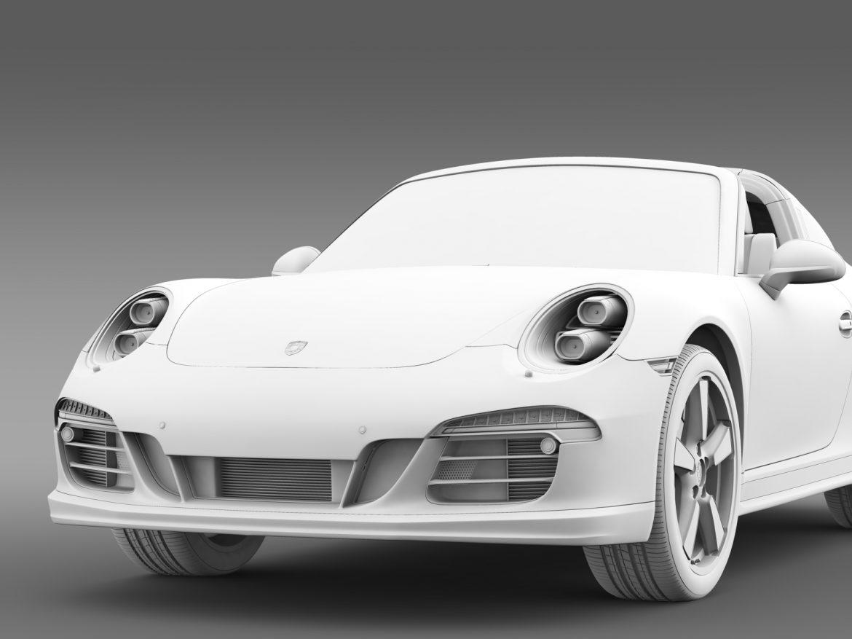 porsche 911 targa 4s exclusive 2015 3d model 3ds max fbx c4d lwo ma mb hrc xsi obj 208904