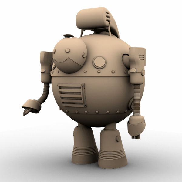 robot 05 3d model 3ds max fbx obj 208924
