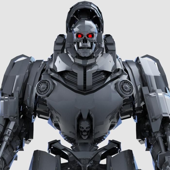 robot penglog model 3d 3ds max fbx gwrthwynebu 208928