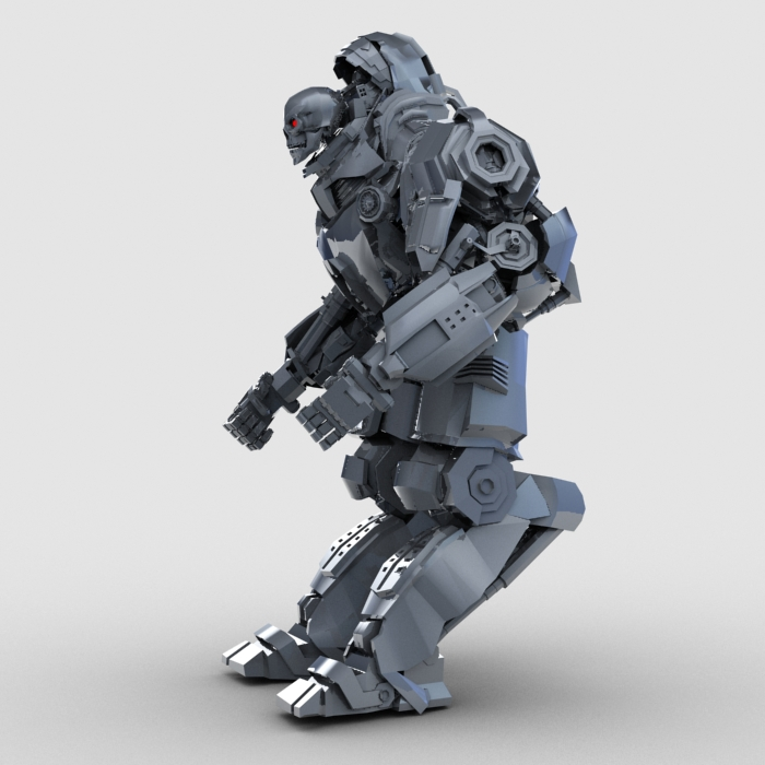 robot penglog model 3d 3ds max fbx gwrthwynebu 208929