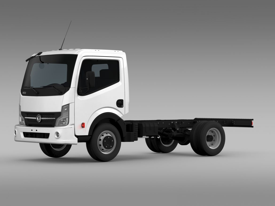 dongfeng n300 captain chassi 2015 3d model 3ds max fbx c4d lwo ma mb hrc xsi obj 208954
