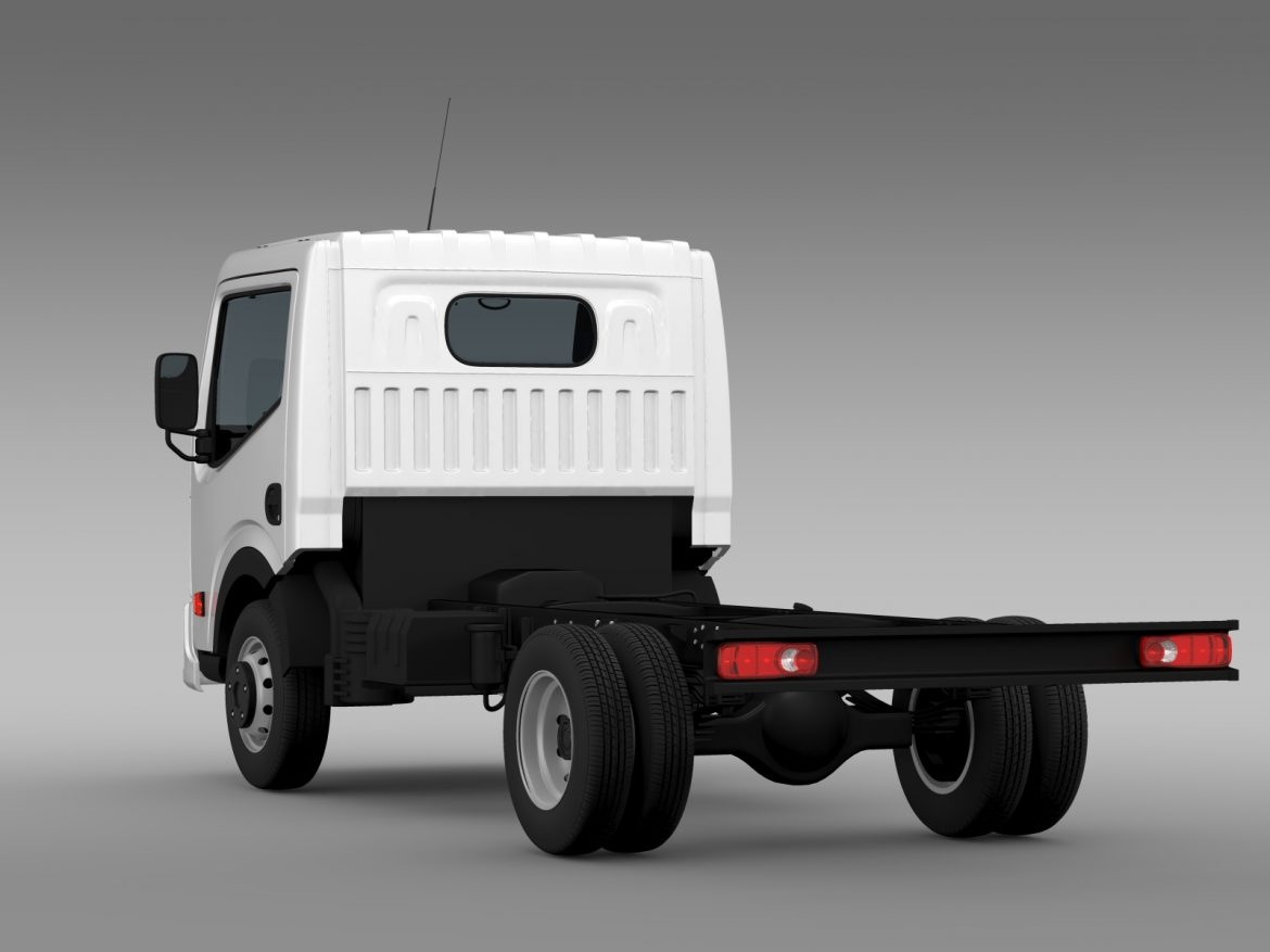 dongfeng n300 captain chassi 2015 3d model 3ds max fbx c4d lwo ma mb hrc xsi obj 208957