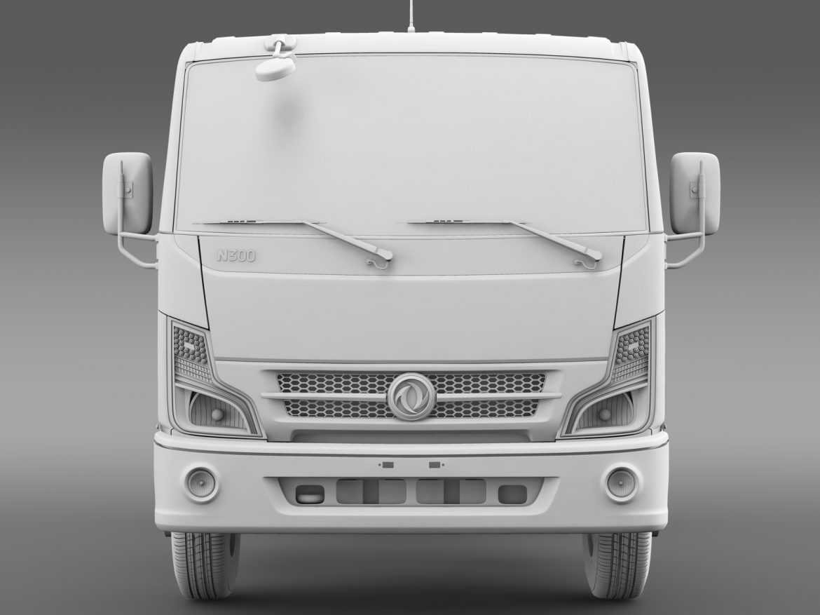 dongfeng n300 captain chassi 2015 3d model 3ds max fbx c4d lwo ma mb hrc xsi obj 208962