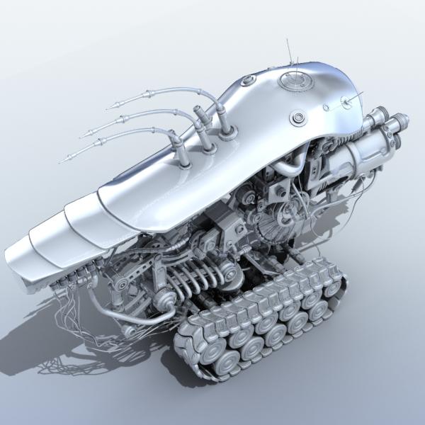 robot 08 3d model 3ds max fbx obj 208999