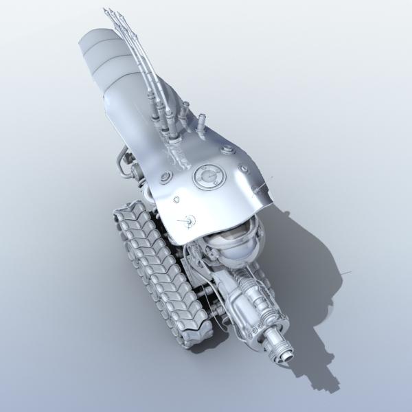 robot 08 3d model 3ds max fbx obj 209001