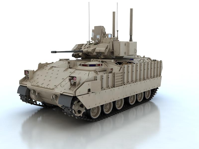 bradley m2a3 3d model max fbx obj 209022