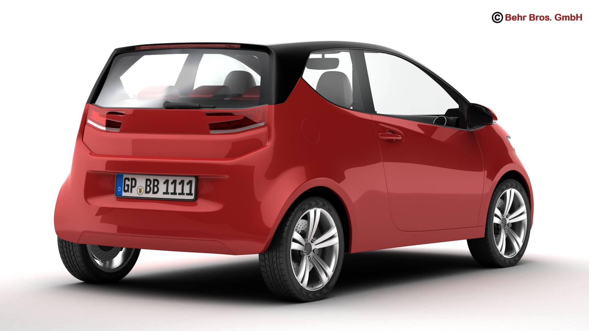 generic city car 3d model 3ds max fbx c4d lwo ma mb obj 209036
