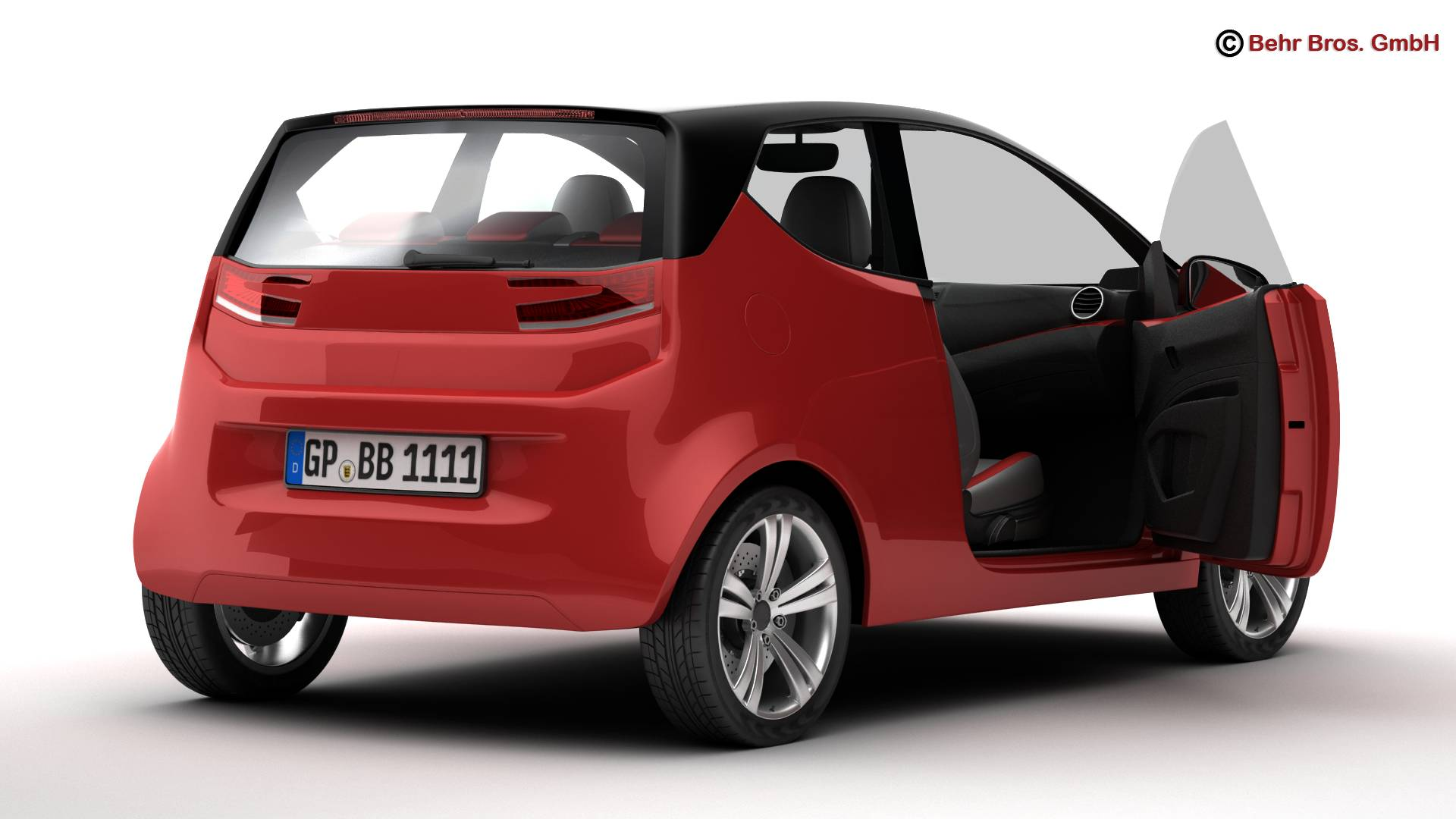 generic city car 3d model 3ds max fbx c4d lwo ma mb obj 209037
