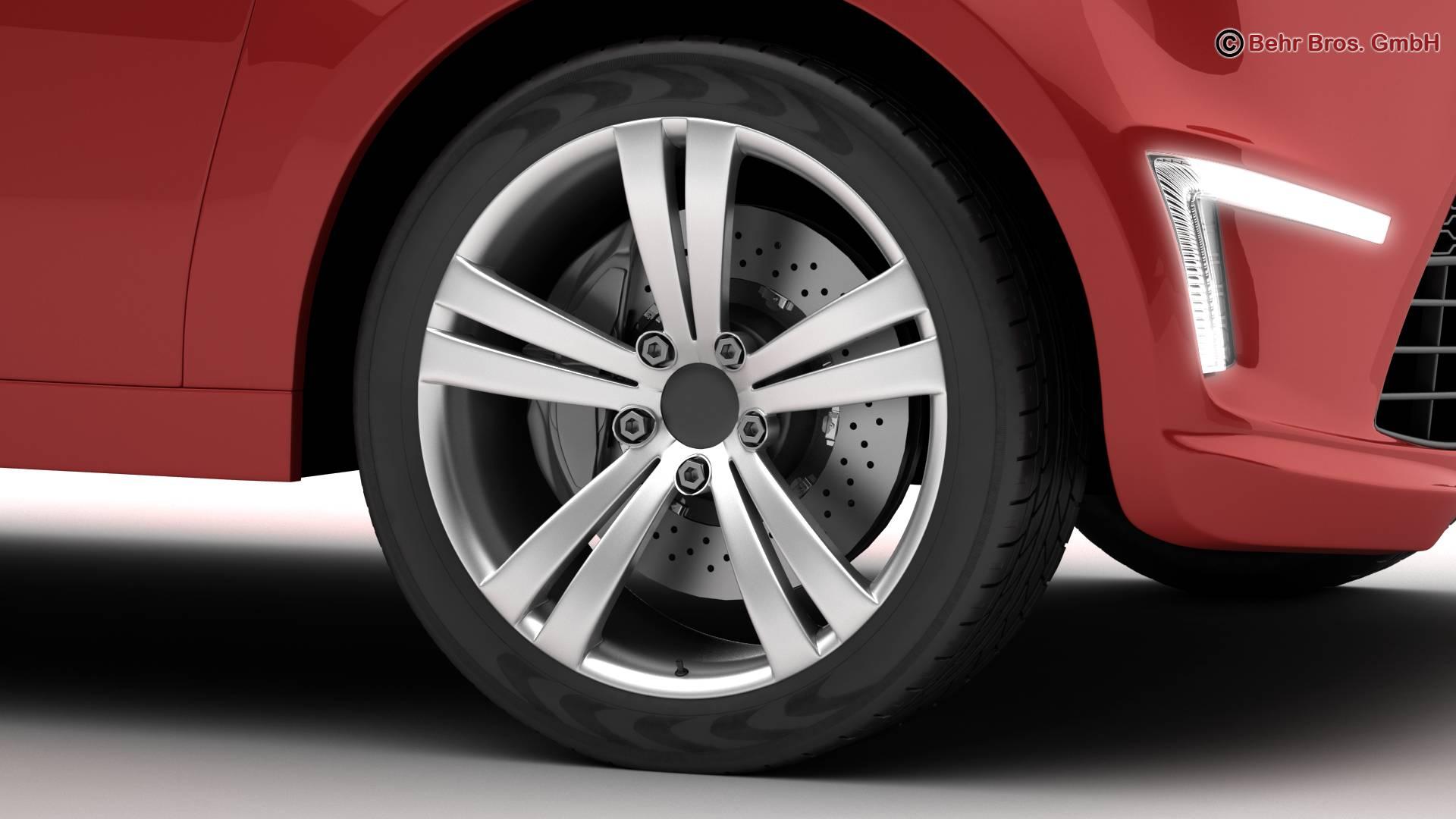 generic city car 3d model 3ds max fbx c4d lwo ma mb obj 209041