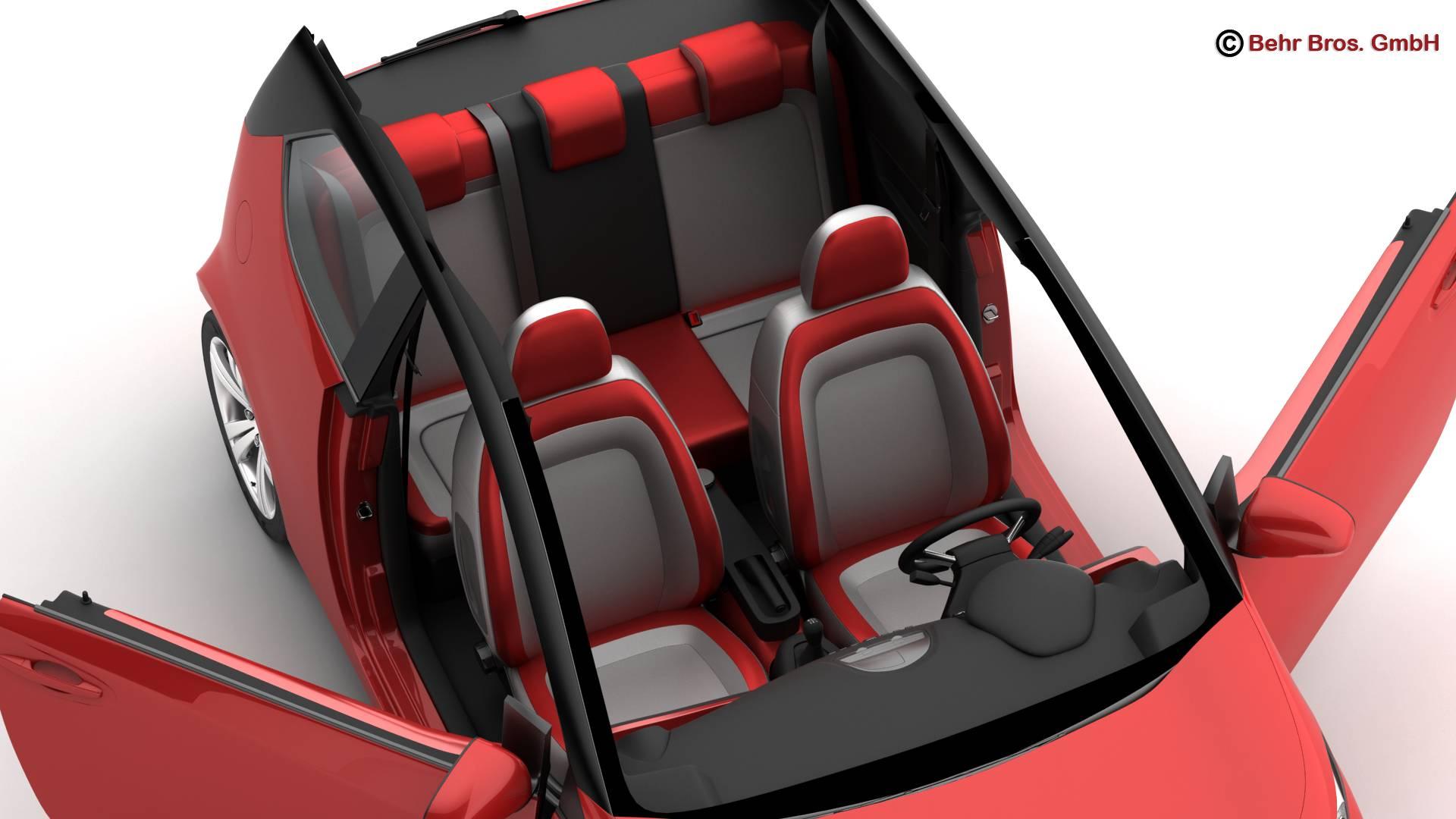 generic city car 3d model 3ds max fbx c4d lwo ma mb obj 209044