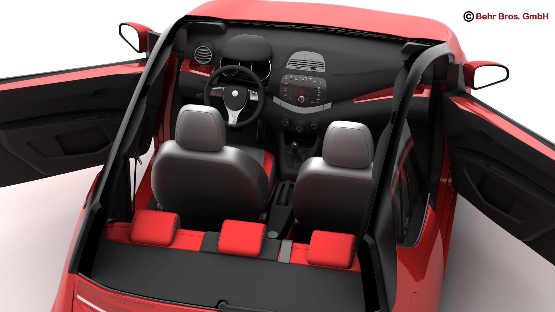 generic city car 3d model 3ds max fbx c4d lwo ma mb obj 209045