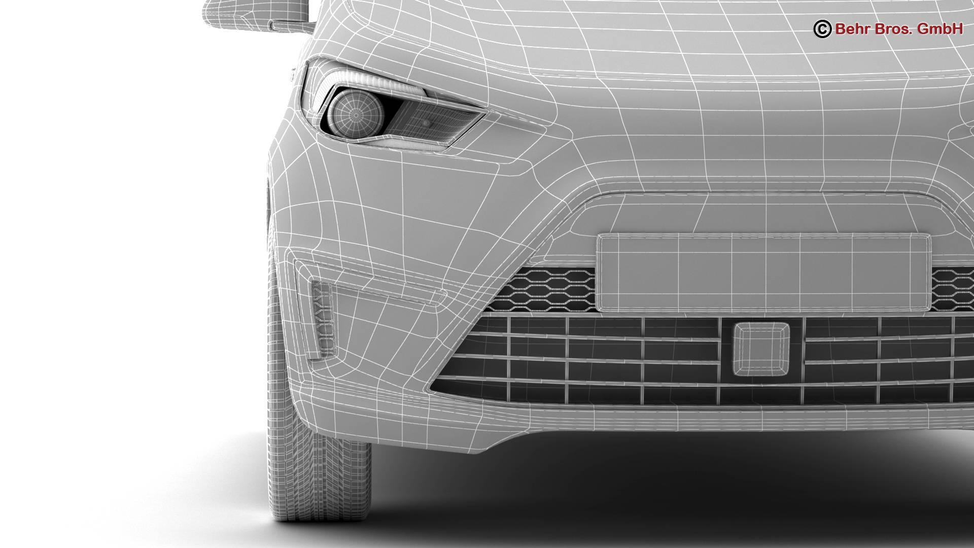 generic city car 3d model 3ds max fbx c4d lwo ma mb obj 209054