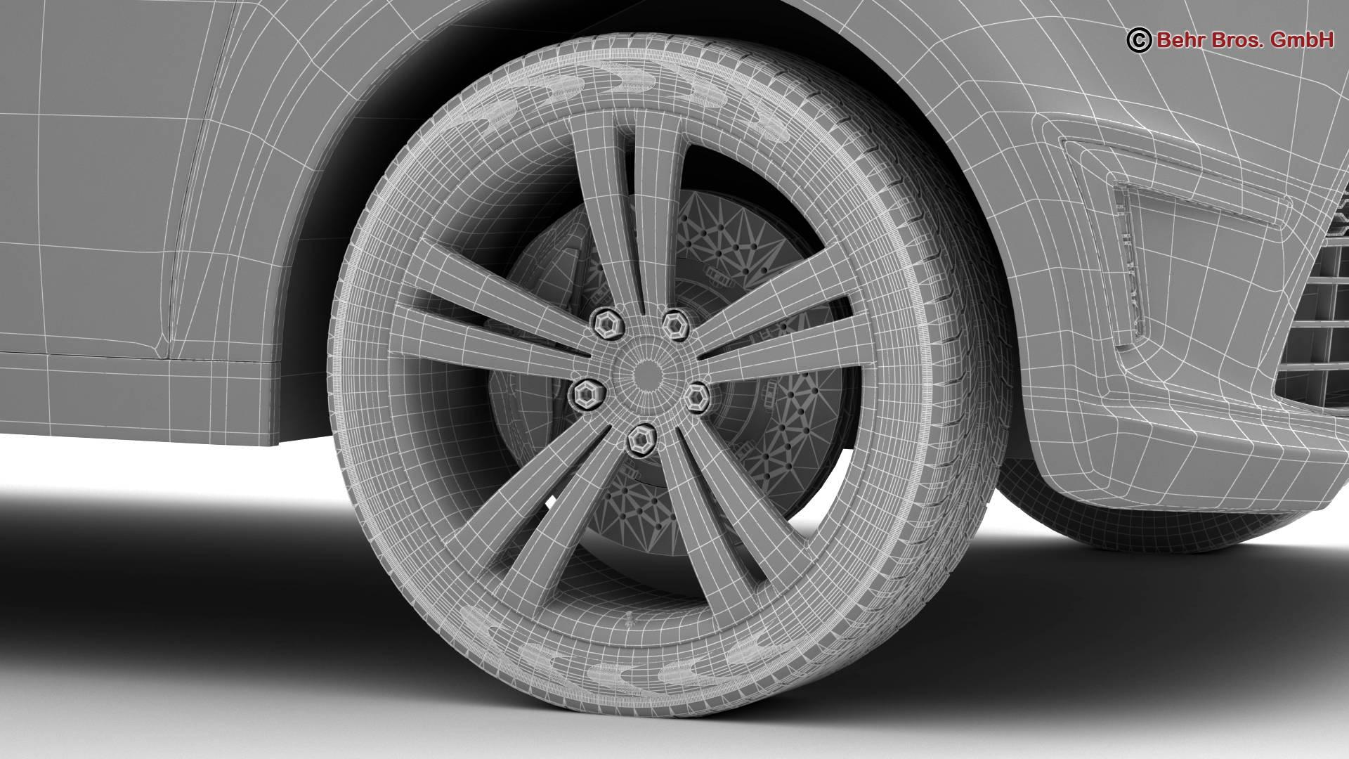generic city car 3d model 3ds max fbx c4d lwo ma mb obj 209055