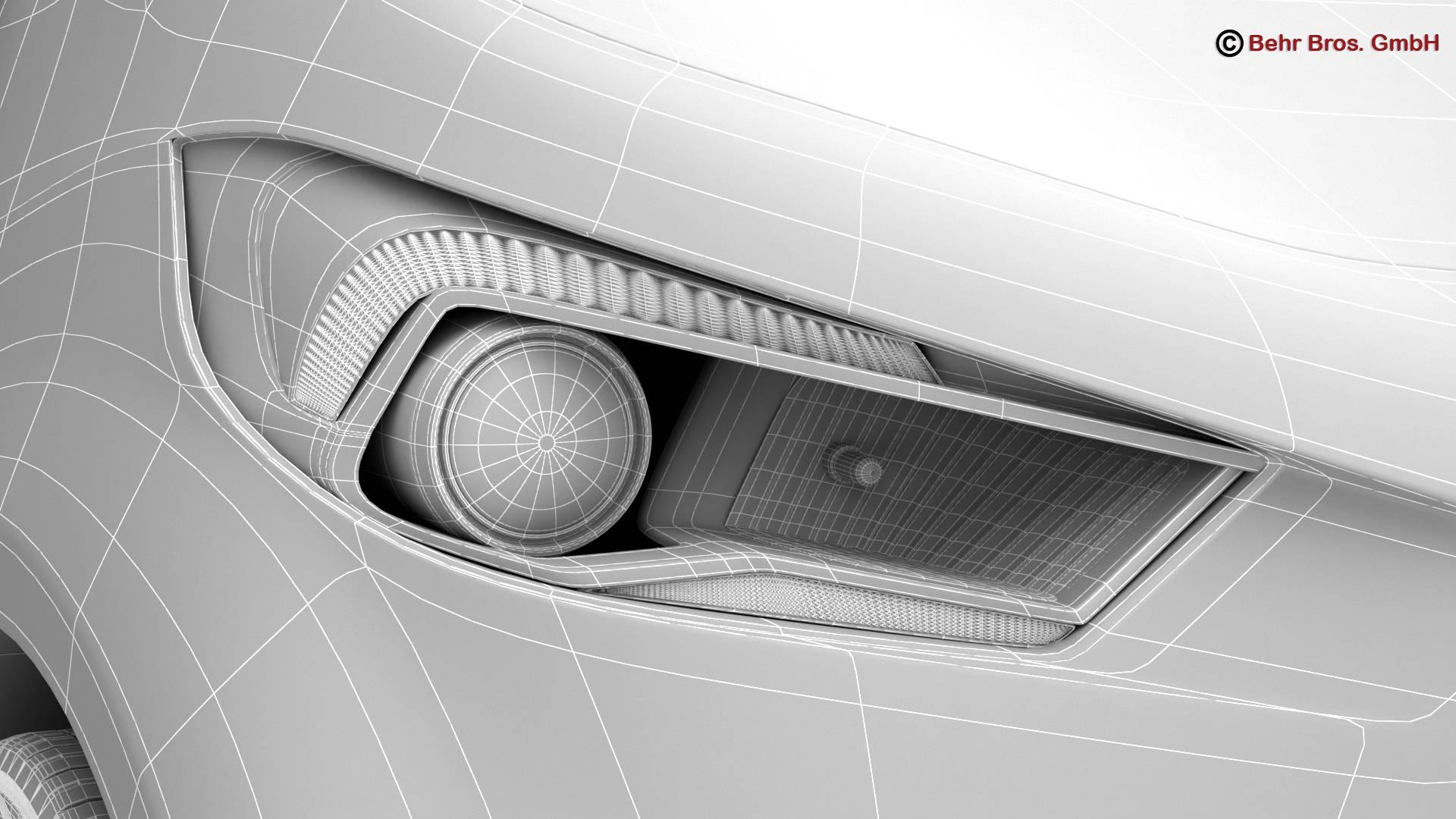 generic city car 3d model 3ds max fbx c4d lwo ma mb obj 209056