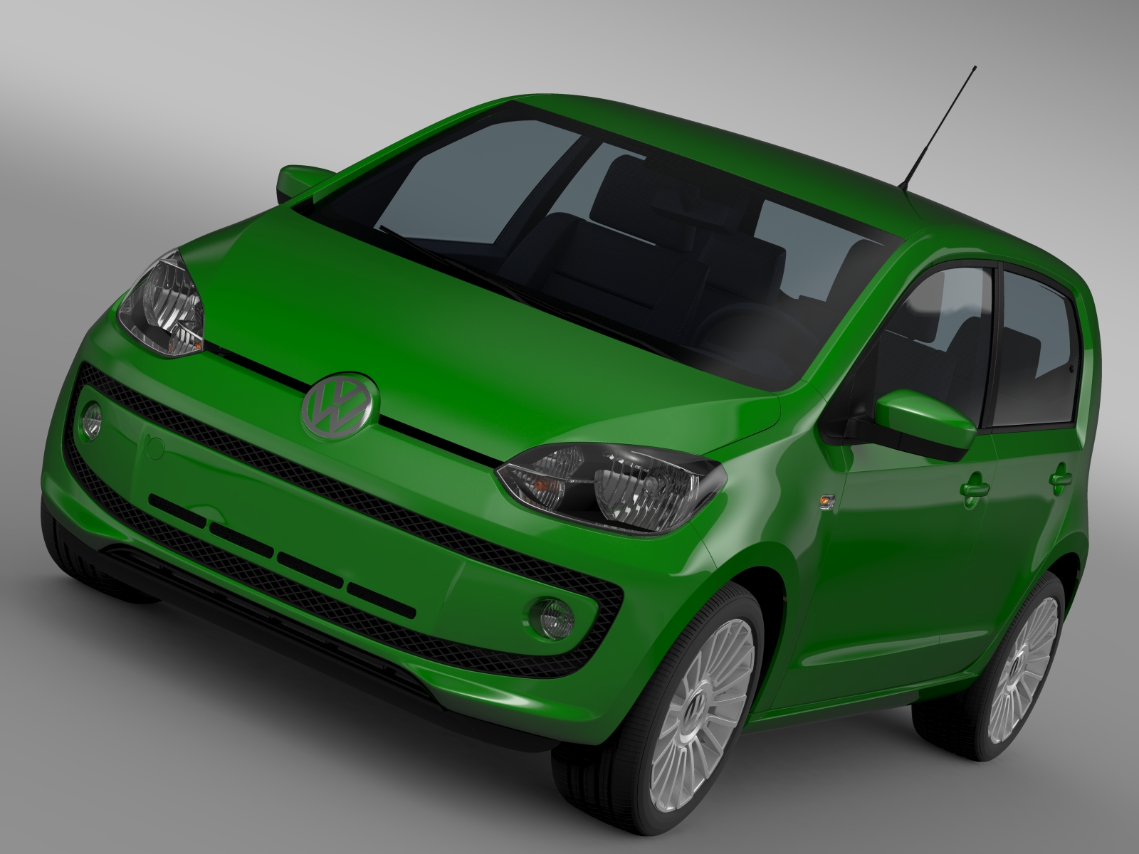 vw eco up 5 door 2013 3d model 3ds max fbx c4d lwo ma mb hrc xsi obj 209109