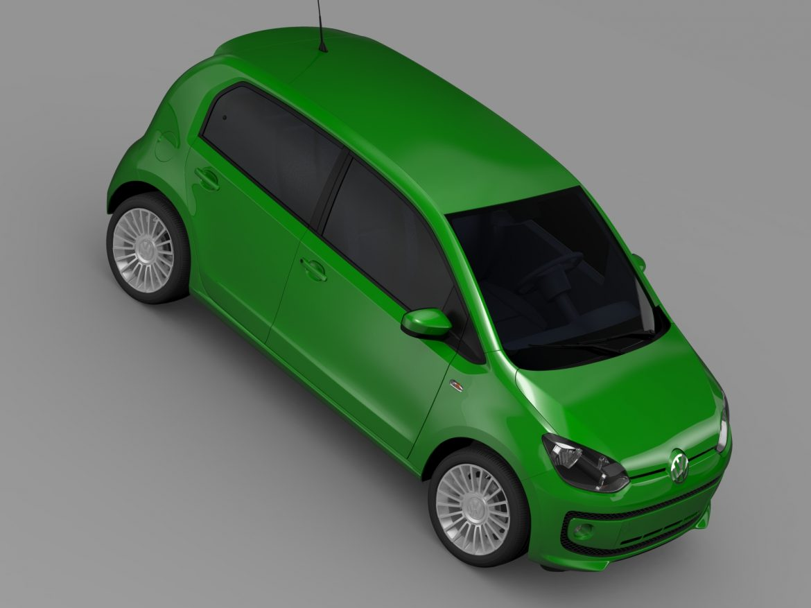 vw eco up 5 door 2013 3d model 3ds max fbx c4d lwo ma mb hrc xsi obj 209119