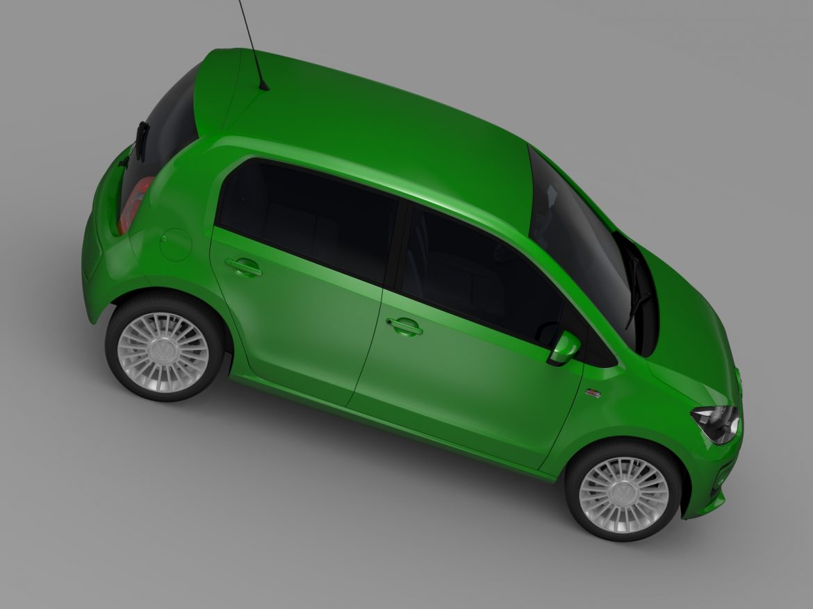 vw eco up 5 door 2013 3d model 3ds max fbx c4d lwo ma mb hrc xsi obj 209120