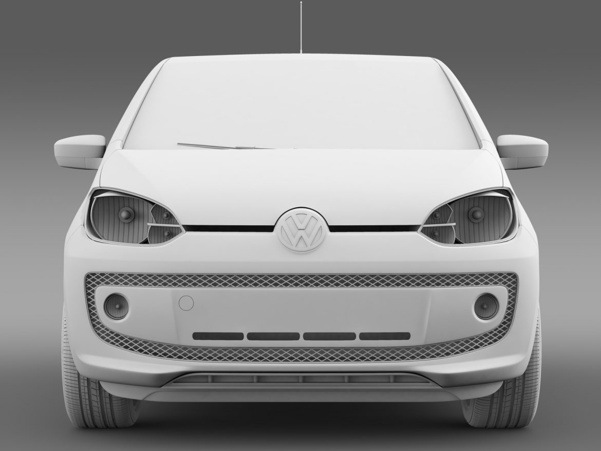 vw eco up 5 door 2013 3d model 3ds max fbx c4d lwo ma mb hrc xsi obj 209121