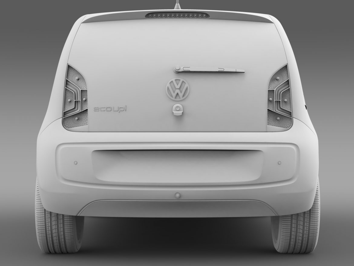 vw eco up 5 door 2013 3d model 3ds max fbx c4d lwo ma mb hrc xsi obj 209122