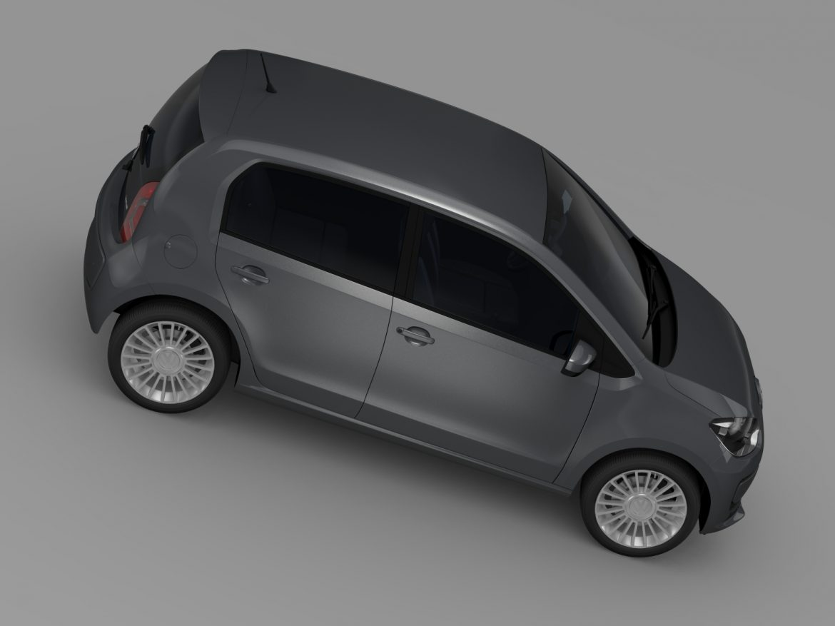 vw high up 5 door 2014 3d model 3ds max fbx c4d lwo ma mb hrc xsi obj 209139