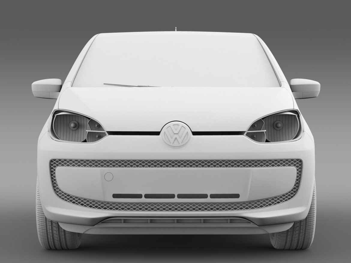 vw high up 5 door 2014 3d model 3ds max fbx c4d lwo ma mb hrc xsi obj 209141