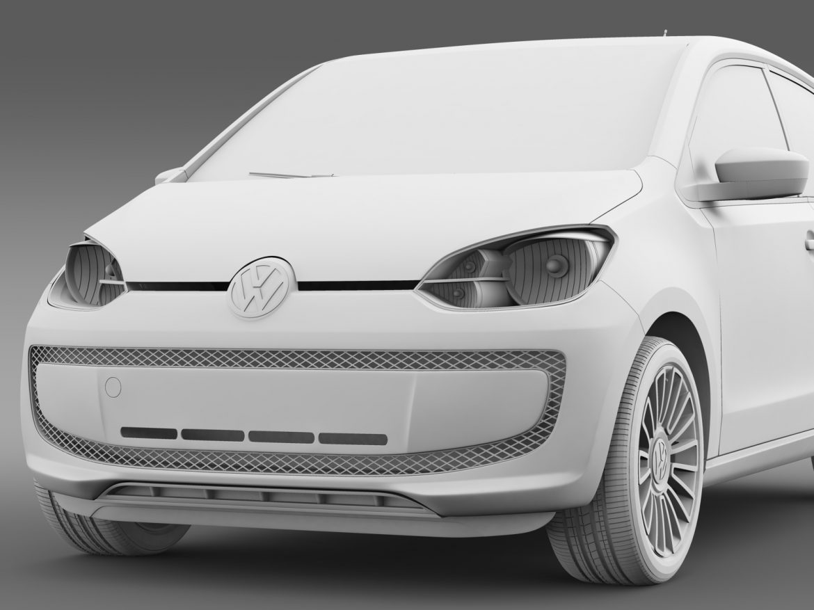 vw high up 5 door 2014 3d model 3ds max fbx c4d lwo ma mb hrc xsi obj 209143