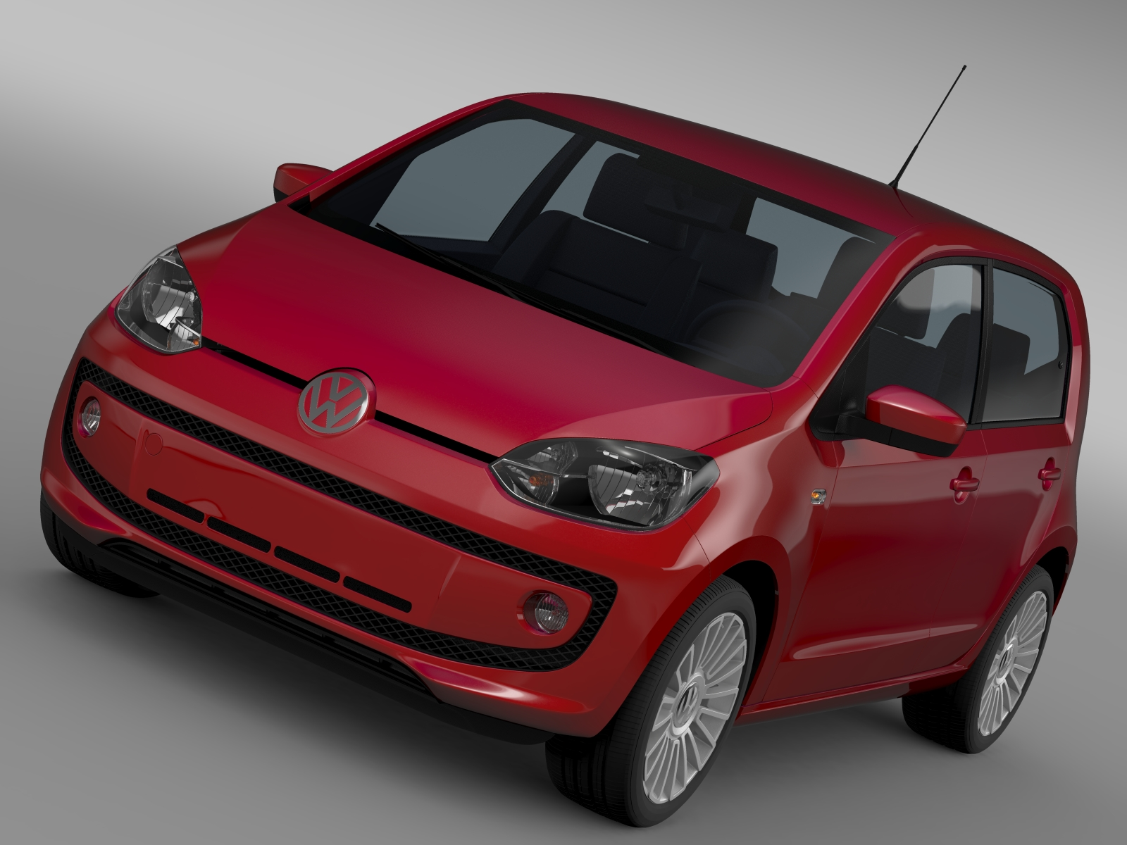 vw up 5 door 2012 3d model 3ds max fbx c4d lwo ma mb hrc xsi obj 209149