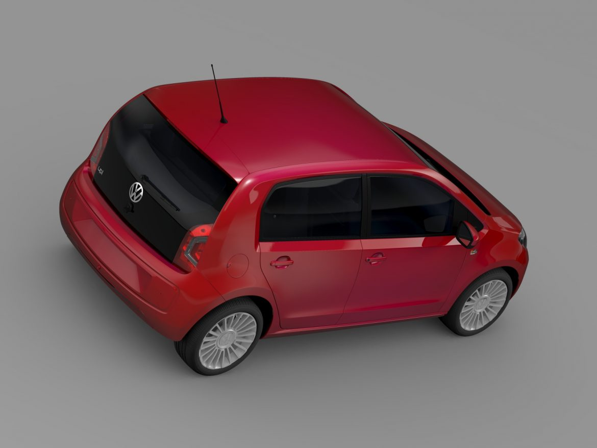 vw up 5 door 2012 3d model 3ds max fbx c4d lwo ma mb hrc xsi obj 209158