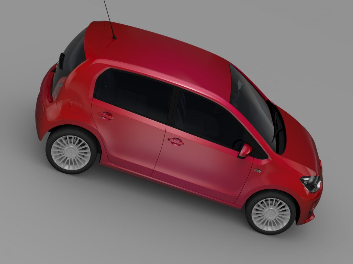 vw up 5 door 2012 3d model 3ds max fbx c4d lwo ma mb hrc xsi obj 209159