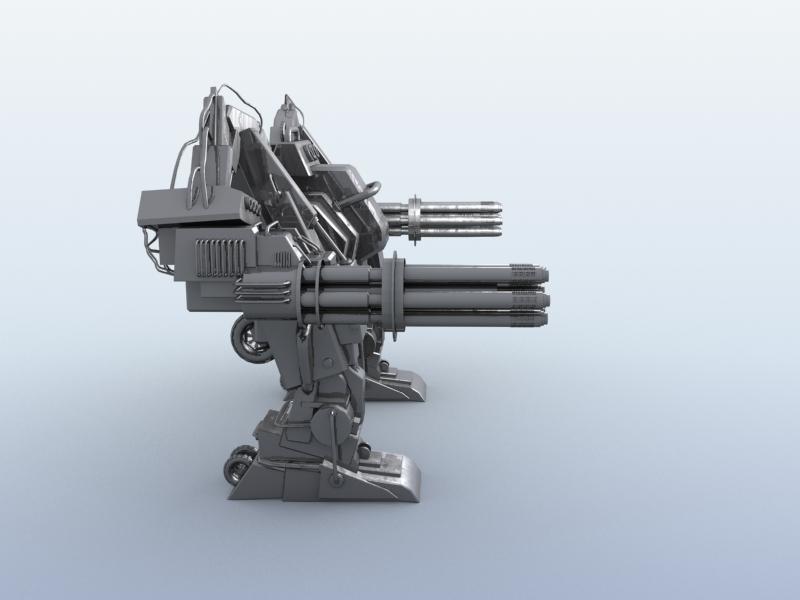 robot 10 3d model 3ds max fbx obj 209191