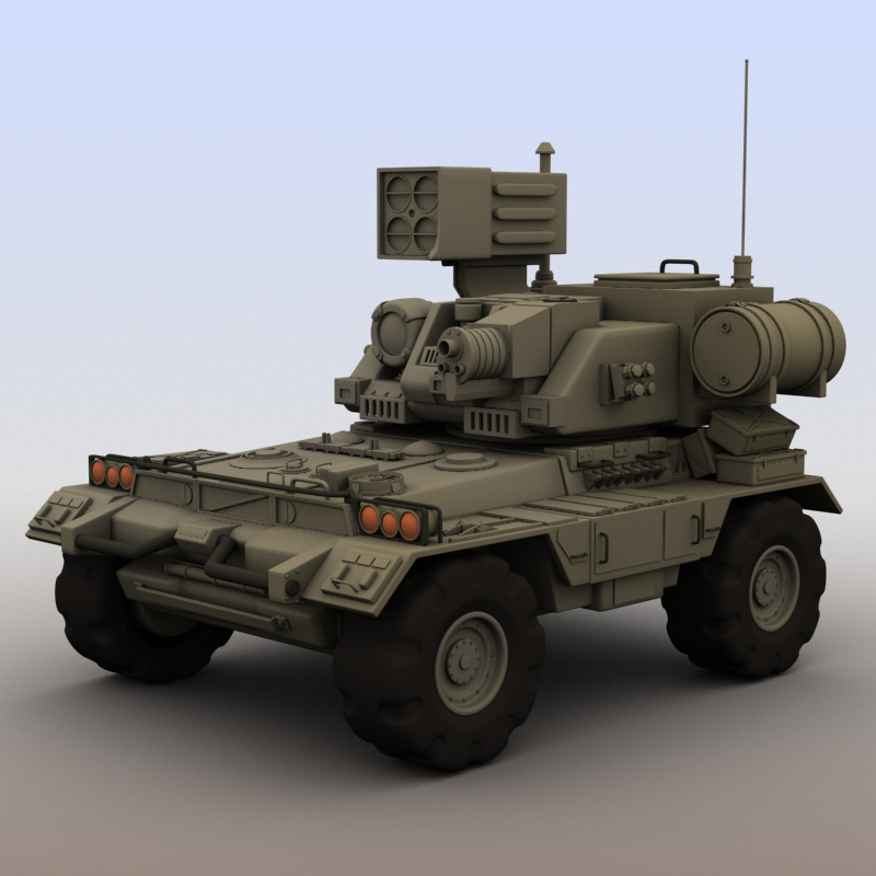 futuristic armored vehicle 3d modelo 3ds max fbx obj 209194