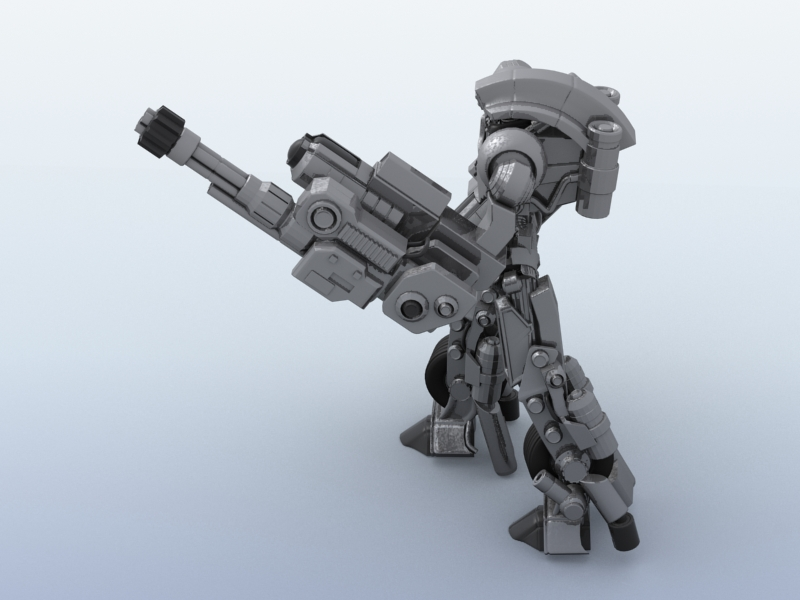 robot 11 3d model 3ds max fbx obj 209207