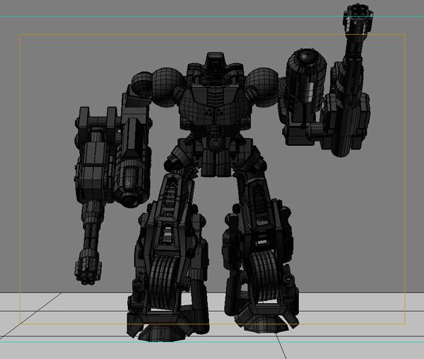 robot 11 3d model 3ds max fbx obj 209212