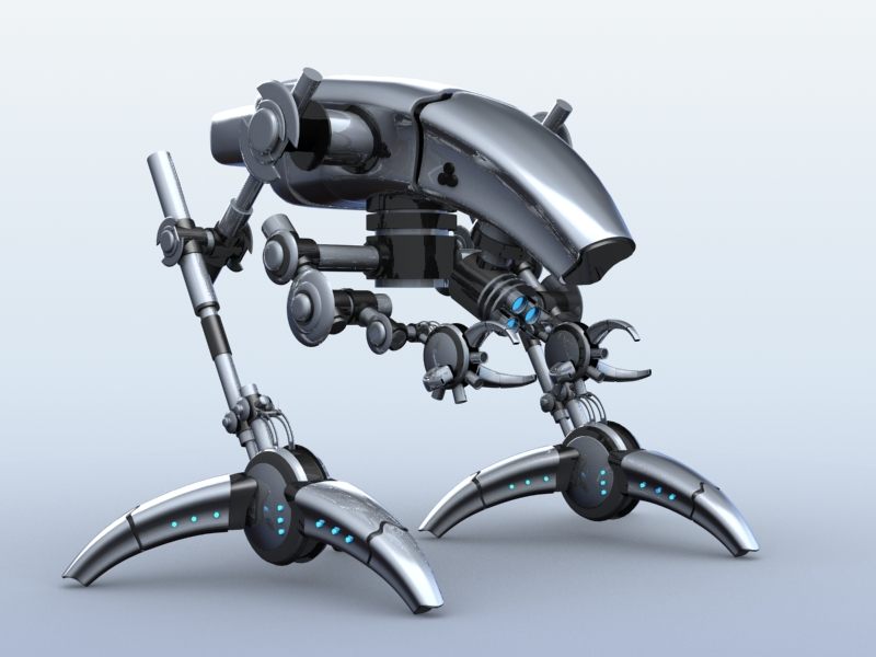 robot 12 3d model 3ds max fbx obj 209223