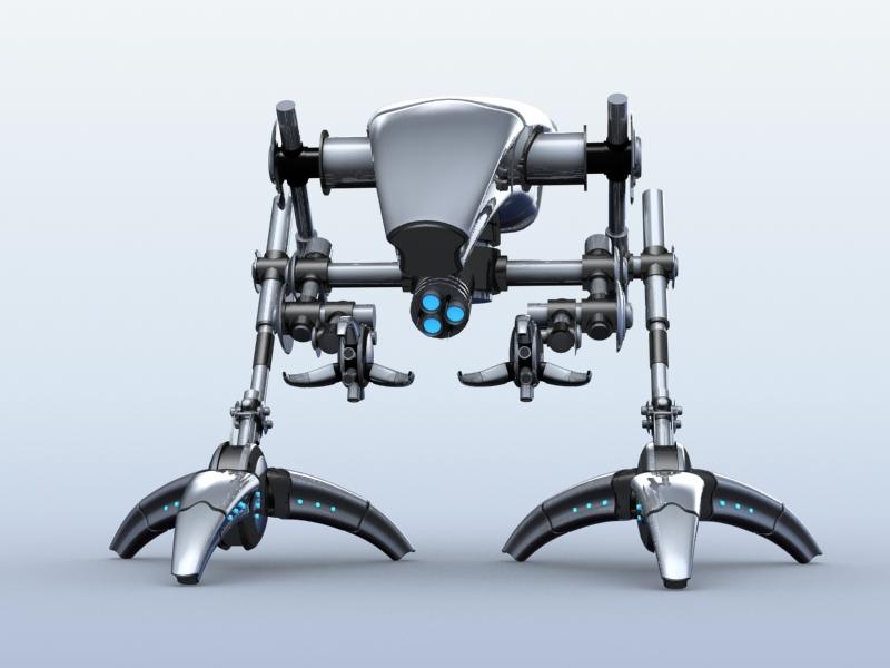 robot 12 3d model 3ds max fbx obj 209224