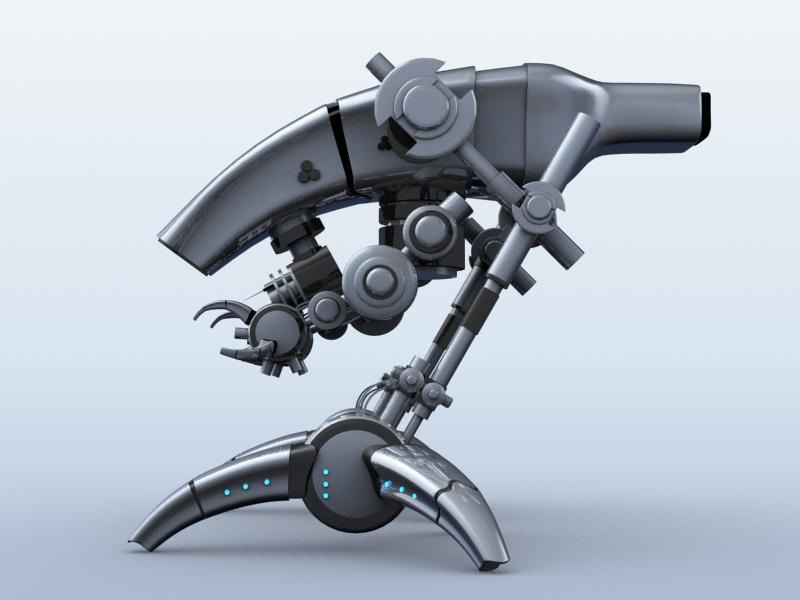 robot 12 3d model 3ds max fbx obj 209225