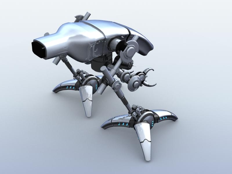 robot 12 3d model 3ds max fbx obj 209226