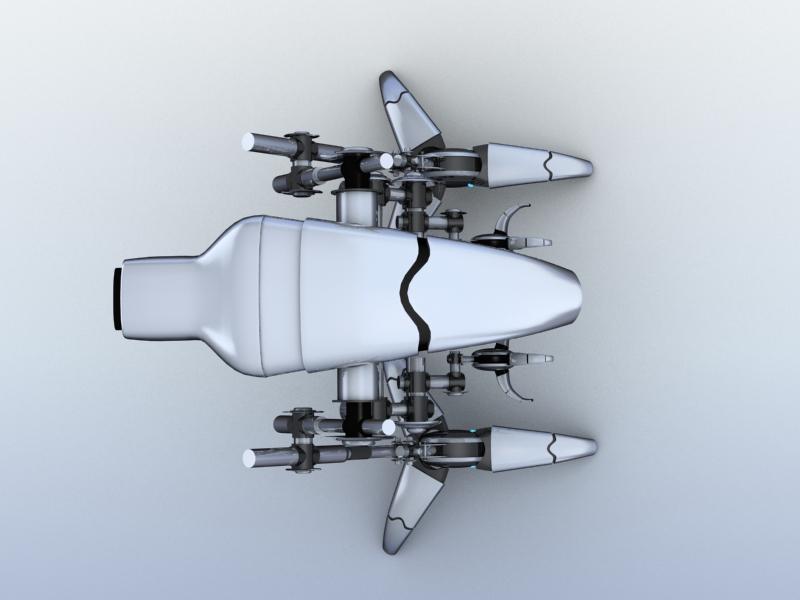 robot 12 3d model 3ds max fbx obj 209227