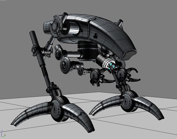 robot 12 3d model 3ds max fbx obj 209229