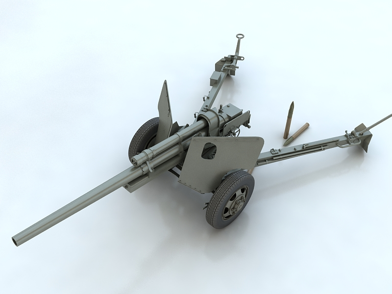 3-inch gun m5 3d model max 209231
