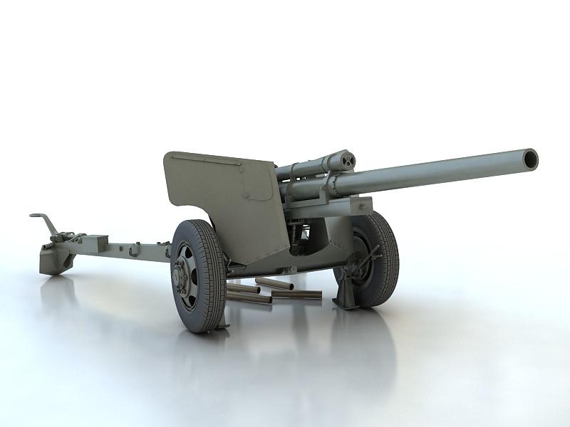3-inch gun m5 3d model max 209238