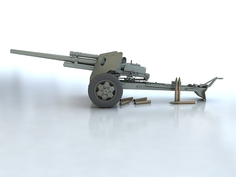 3-inch gun m5 3d model max 209240