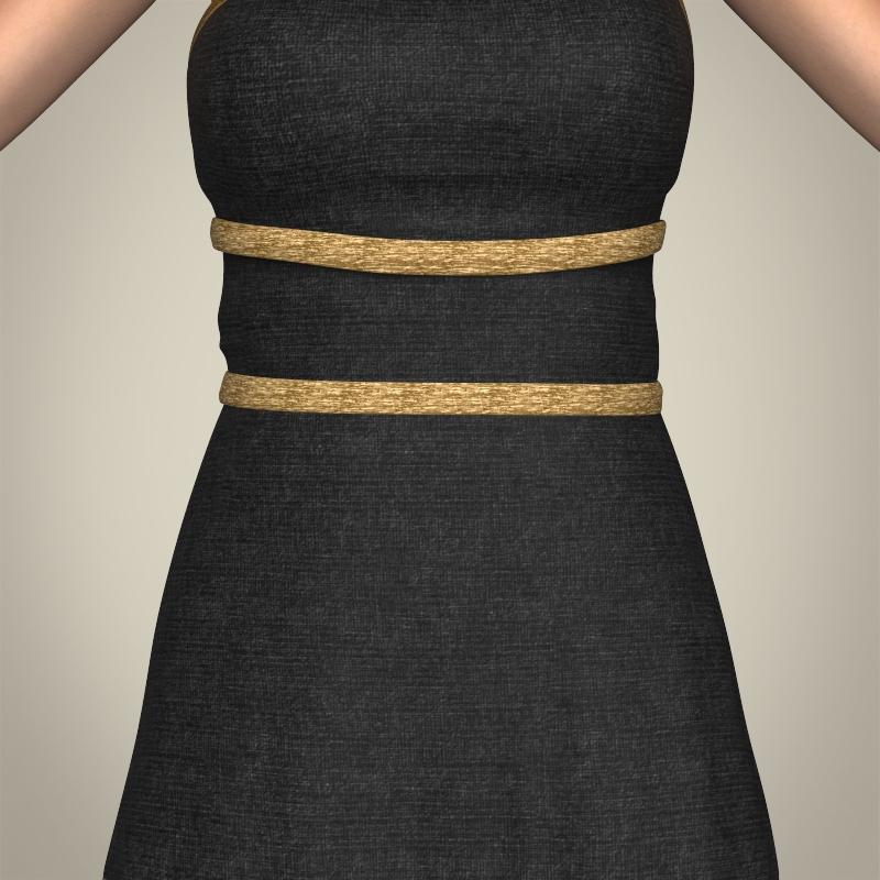 realistic young gorgeous woman 3d model 3ds max fbx c4d lwo ma mb texture obj 209244
