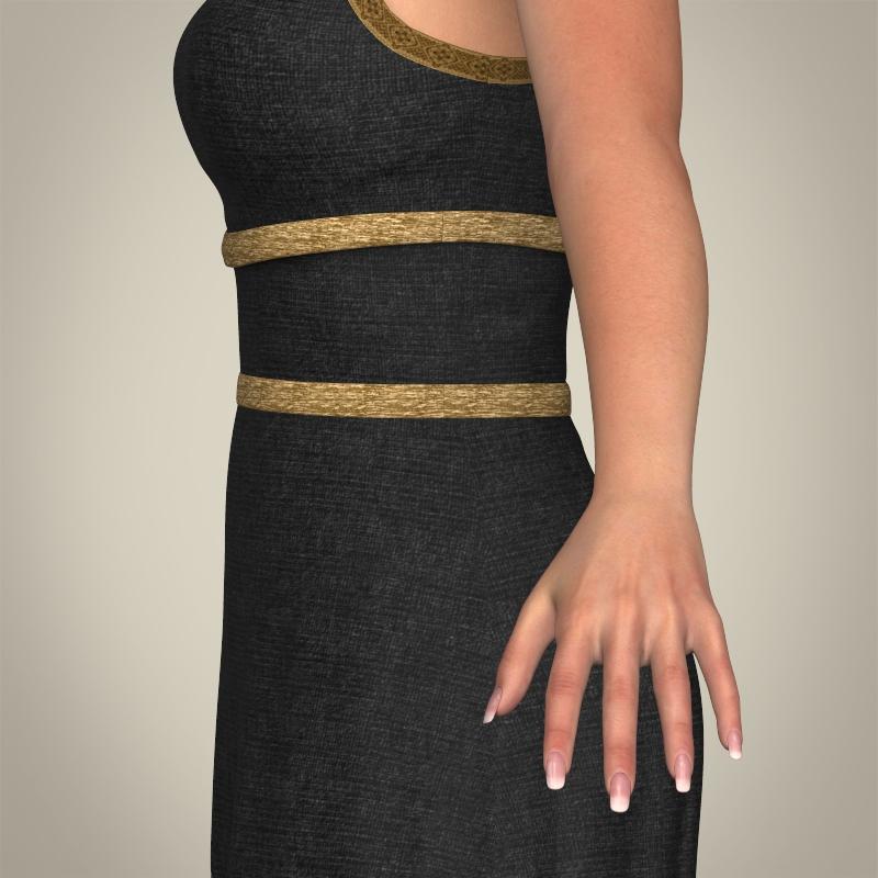 realistic young gorgeous woman 3d model 3ds max fbx c4d lwo ma mb texture obj 209245